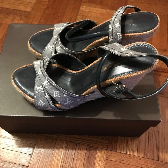 2f23aa3dde1 Louis Vuitton Majorca Wedge Sandal - 8cm NWT